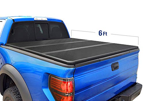 Tyger Auto Black T5 Alloy Hard Top Tonneau Cover for 1982-2013 Ford Ranger 1994-2011 Mazda B-Series Pickup | Styleside 6' Bed | TG-BC5F1022