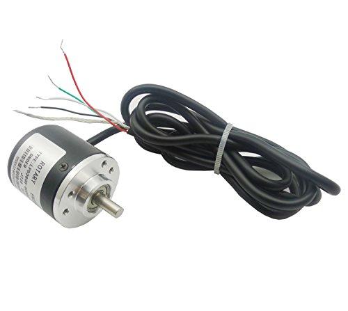 KKHMF インクリメンタル光電ロータリーエンコーダ 600パルス AB二相 5-24V