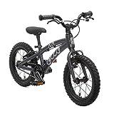 Rad OLLO Premium Kinderfahrrad 14 Zoll (ab 3 Jahre) für Jungen & Mädchen (nur 6,1 kg) - schwarz für Kinder bei Amazon