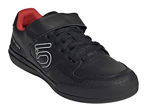 Five Ten Men's Hellcat Mountain Bike Shoe, Core Black/Core Black/Cloud White - 10.5