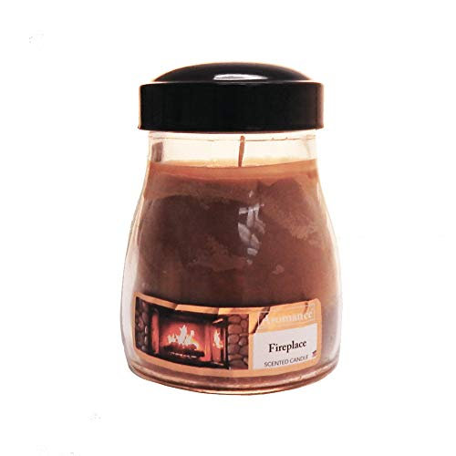 Hanna's Candles Aromance Jar Candle 11oz Churn Fireplace
