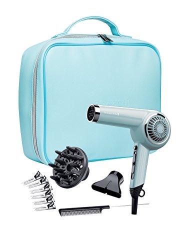 Remington D4110OB 2000 W Retro Hair Dryer, Bombshell Blue