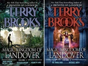 Brooks' Complete 5-book set MAGIC KINGDOM OF LANDOVER series in TWO VOLUMES -- Magic Kingdom for Sale -- Sold / Black Unic...