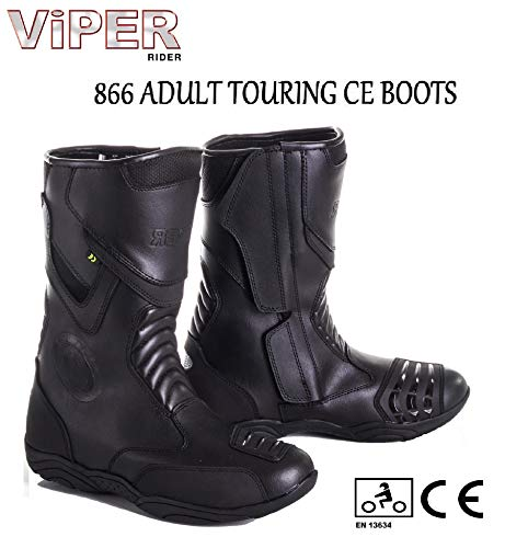 Motocicleta VIPER 866 - Botas de ciclismo para hombre y mujer, impermeables,...