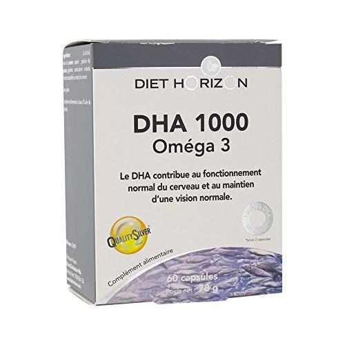 DHA 1000 Oméga 3 Diet Horizon 60cp