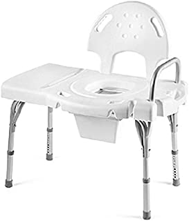 Invacare Bathtub Transfer Bench with Commode, Single