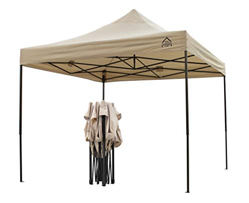 All Seasons Gazebos, 3x3m Heavy Duty, Fully Waterproof Pop up Gazebo with Leg Weights