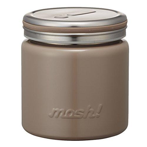 フードコンテナ 真空断熱 フードポット 0.3L ブラウン mosh! (モッシュ!) DMFP300BR