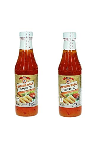 Pamai Pai® Doppelpack Chilisauce für Frühlingsrollen 2 x 275ml Süße Chili Chilli Sauce