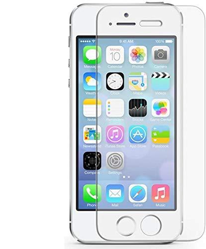 Tumundosmartphone Protector Pantalla Cristal Templado para iPhone 5 / 5S / SE...