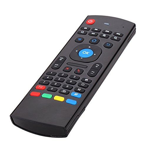 Andoer® Universal Fernbedienung,MX3 Tragbare 2.4G Drahtlose Fernbedienung Tastatursteuerung Air Mäuse für Smart TV Android TV Box mini PC HTPC