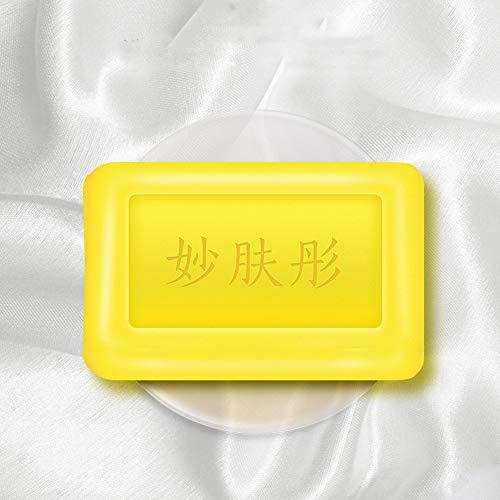 LICHUXIN antibactérienne et de la Peau de ramollissement de Savon de Nettoyage de l'huile de Commande acarien Propre Naturel jetable soufre antibactérien