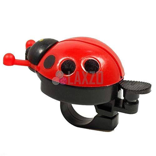 Bicycle Ladybird Kids Bell Alarm Bike Metal Handlebar Horn Red