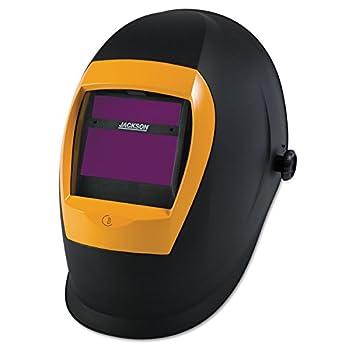 Jackson Safety BH3 Auto Darkening Welding Helmet with Balder Technology  37191  WH70 Black/Orange