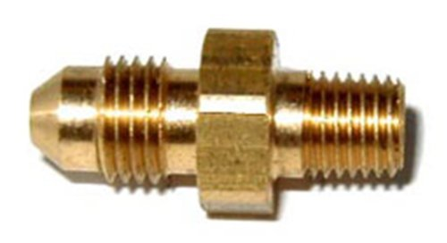 """NOS 17944NOS Brass -3AN to 1/16"""" NPT Straight Adapter Fitting"""