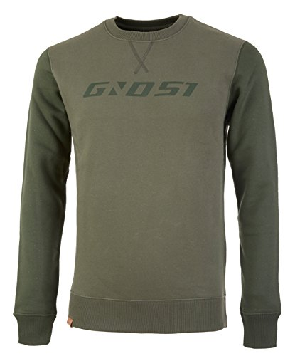 Ghost MTN Casual Line Sweater Army Green/Shadow Green (M)