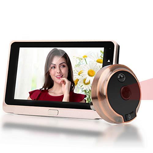 Spioncino Digitale da 5 pollici, Spioncino Elettronico con Display Digitale Porta 720P con grandangolo da 160 °, Citofono Per Campanello Di Sicurezza Da 1 MP Con Visione Notturna IR