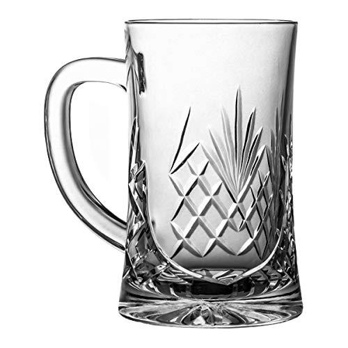 Crystaljulia 05966 Jarra de cerveza, 500 milliliters, Cristal con Plomo