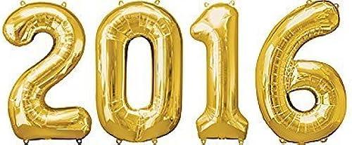 descuento online 2016 oro grande Foil Balloon 34 Inch by Party Supplies Supplies Supplies by Party Supplies  tienda hace compras y ventas