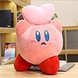 Boufery Anime Star Kirby Girl Heart Juguetes de Peluche muñecas, Dibujos Animados de Peluche Almohada decoración Linda muñeca 45cm