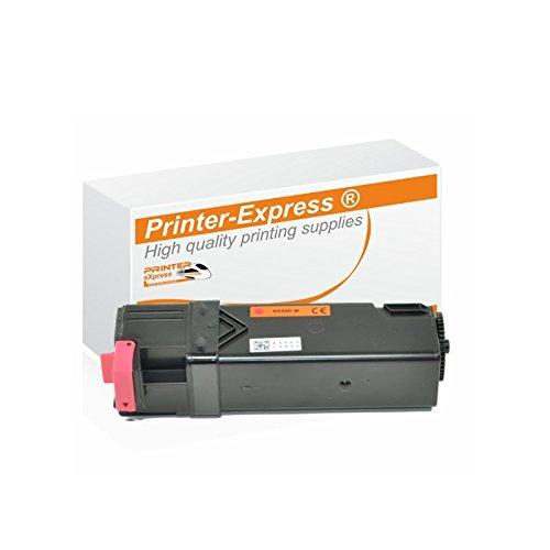 Printer-Express XL Toner 2.500 Seiten ersetzt Xerox 106R01595, 106R01592, X6500 für Xerox Phaser 6500 6500DN 6500N / WC 6500 6505 6505DN 6505N / WorkCentre 6500 6505 6505DN 6505N Drucker Magenta