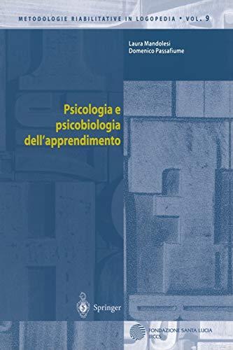 Psicologia e psicobiologia dell'apprendimento