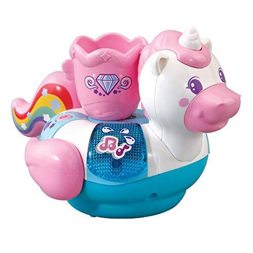 VTech- Baby: ¡Al Agua Juguete Electrónico, Pequeño Unicornio, Multicolor (3480-516022)