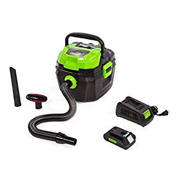 24V Cordless Wet/Dry Shop Vacuum 2.0 Ah Battery Included BVU24211