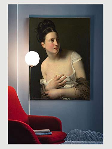 Leinwanddruckwandkunst Renaissance Bilder Frauen Porträts Leinwand Ölgemälde Poster Und Drucke...