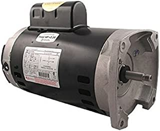 AO Smith/Century Electric Two-Speed, PSC High/Cap Start-Cap Run Low, 2.0 / .25HP, 3450/1725RPM, 230V, 11.0/1.8 AMPS, 1.3SERVICE Factor, Square Flange