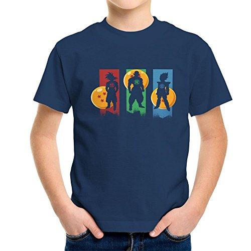 Cloud City 7 The Core Team Dragonball Z Goku Vegeta Piccolo Kid's T-Shirt