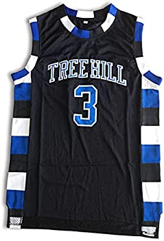 Lucas Scott Jersey One Tree Hill 3 Ravens Basketball Jersey Stitched Sport Movie Jersey Black S-3XL  XXL