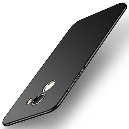 SPAK Xiaomi Mi Mix 2 Funda,Nueva PC Back Cover de la Cubierta Trasera Caso de Protección para Xiaomi Mi Mix 2 (QB-Negro)