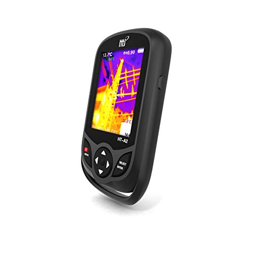 Wärmebildkamera, Wärmebildkamera mit einer Auflösung von 320 x 240 IR, Infrarotkamera im Taschenformat mit 76800 Pixeln Echtzeit-Wärmebild, Temperaturmessbereich -4 ° F bis 572 ° F, Wärmebildkamera