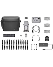 "DJI Mavic Air 2 Fly More Combo - Drone Quadcopter UAV with 48MP Camera 4K Video 1/2"" CMOS Sensor 3-Axis Gimbal 34min Flight Time Active Track 3.0, Grey"