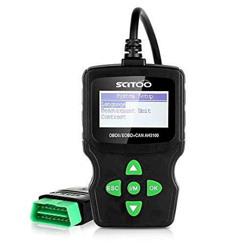 SCITOO OBD2 AH3100 Universal OBD II Scanner Engine Fault Code Reader CAN Diagnostic Tool