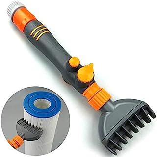 Feeilty Filtro de chorro limpiador de varita de cartucho elimina la suciedad de los desechos, limpiadores de mano para piscina, jacuzzi, spa y agua