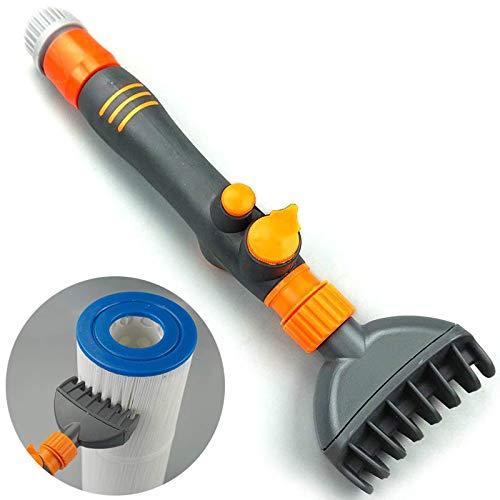 Feeilty Filter Jet Reiniger Zauberstab-Kartusche entfernt Schmutz Handreiniger für Pool Whirlpool Spa Wasser
