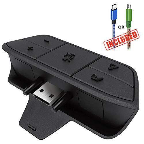 Adaptateur de casque stéréo pour Xbox One contrôleur avec 1,8m câble micro USB