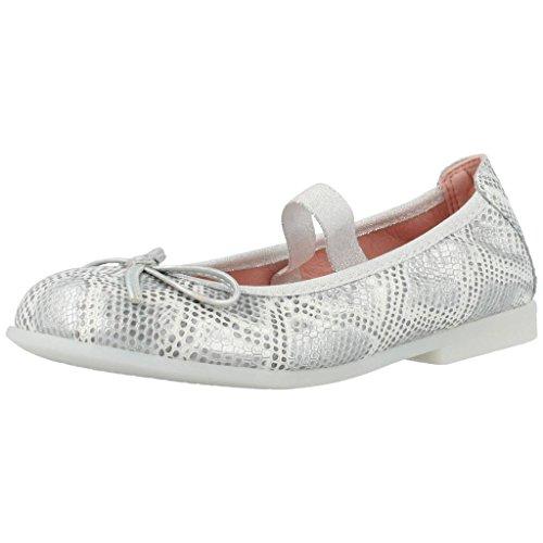PABLOSKY 313950 ballerina, zilverkleurig, met elastiek