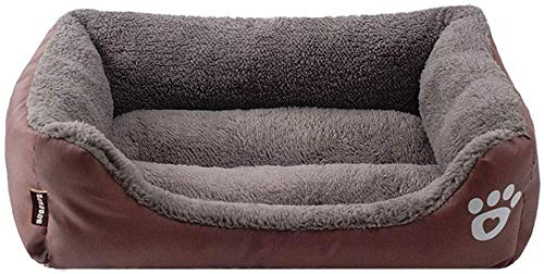 YLCJ Hond bed, Huisdier bed, Huisdier bed voor diepe slaap, Hondenmand, Hondenbed in waterdicht memory foam (Kleur: zwart, Maat: XXXL), L, BRON