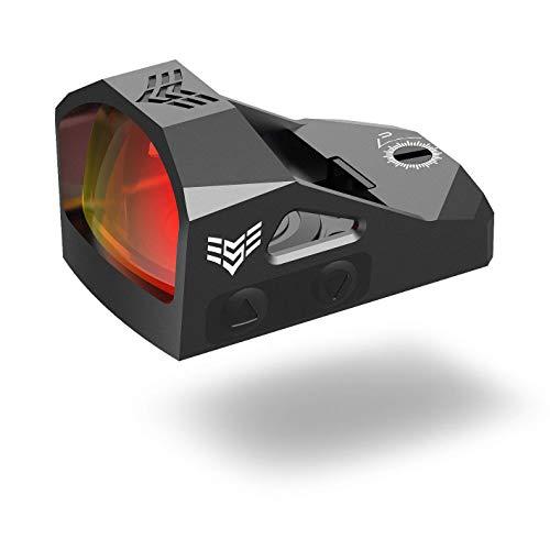 Swampfox Justice - Micro Reflex Red Dot Sights (RMR Pistol Cut) 3 MOA Reticle