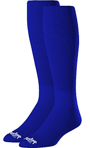 Rawlings Baseball Socks (2 Pair), Royal Blue, Medium