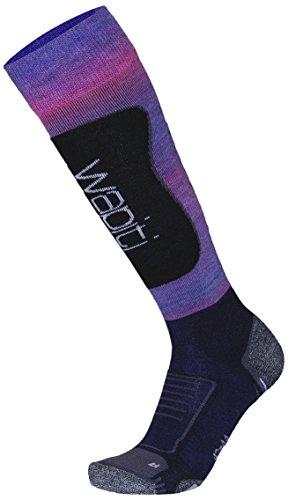 Wapiti Damen W08 Socke, Blau-Lila, 39-41