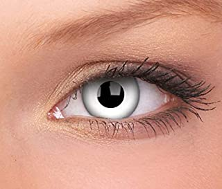 ColorVue WhiteOut Crazy lens onr year contact lens WhiteOut