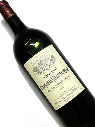 1977年 シャトー カルディナル ヴィルモーリーヌ 1,500ml フランス ボルドー 赤ワイン