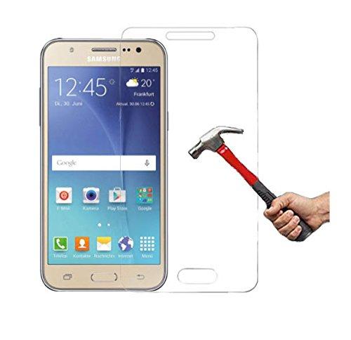 Protector de pantalla de cristal blindado para Samsung Galaxy J5 J500 (2015),...