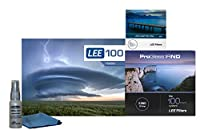 Lee Filters LEE100 77mm ProGlass 3.0 IRNDキット - LEE100フィルターホルダー、100mm ProGlass IRND 10ストップ3.0フィルター、77mm広角アダプターリング付き
