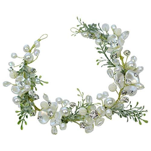 LYM Couronne de Fleurs Couronne de Fleurs Jeune Fille Anniversaire de Mariage (Couleur : A)