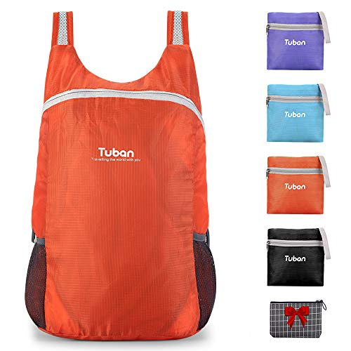 Ultra Lightweight Packable Water Resistant Backpack for Travel Camping Outdoor Hiking Daypack